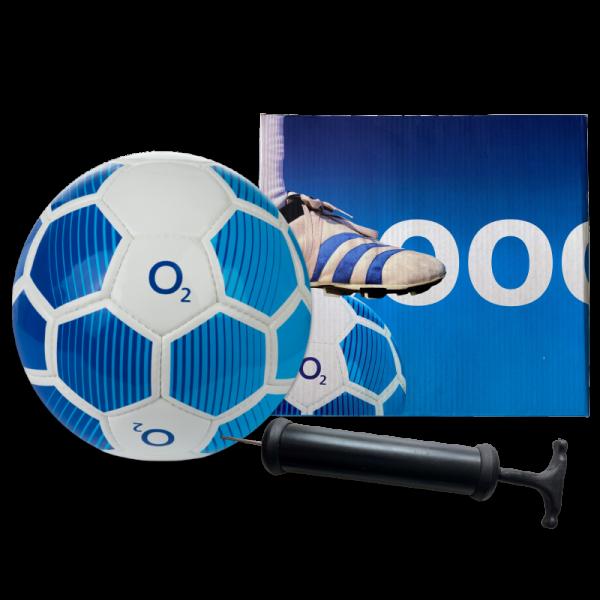 Fussball mit Ballpumpe
